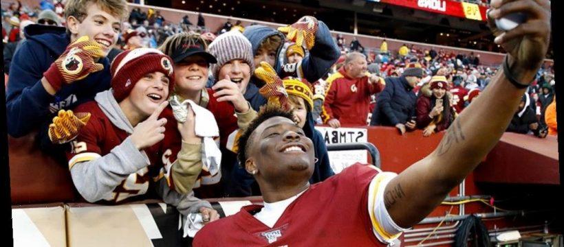 Washington Redskins' Dwayne Haskins takes selfie with fan ...